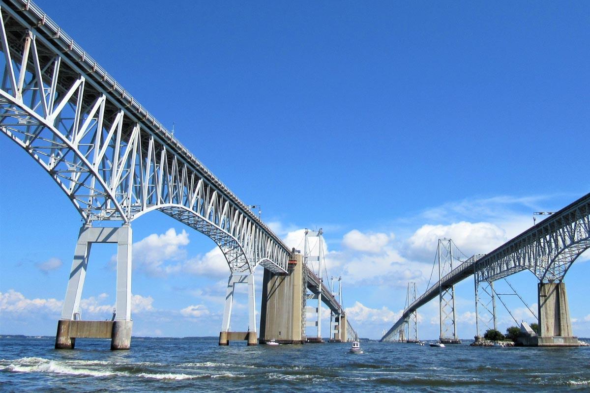 Chesapeake Bay Bridge one of the american bridges