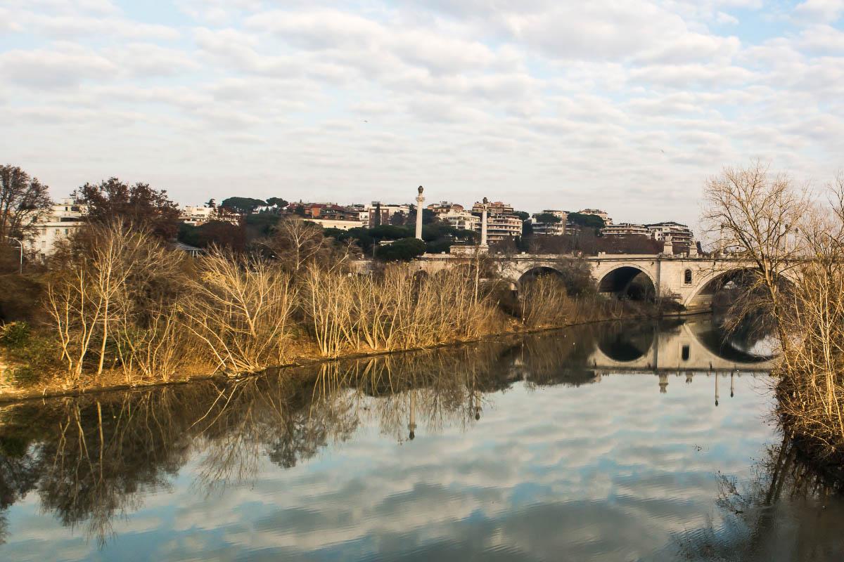 Flaminio bridge rome