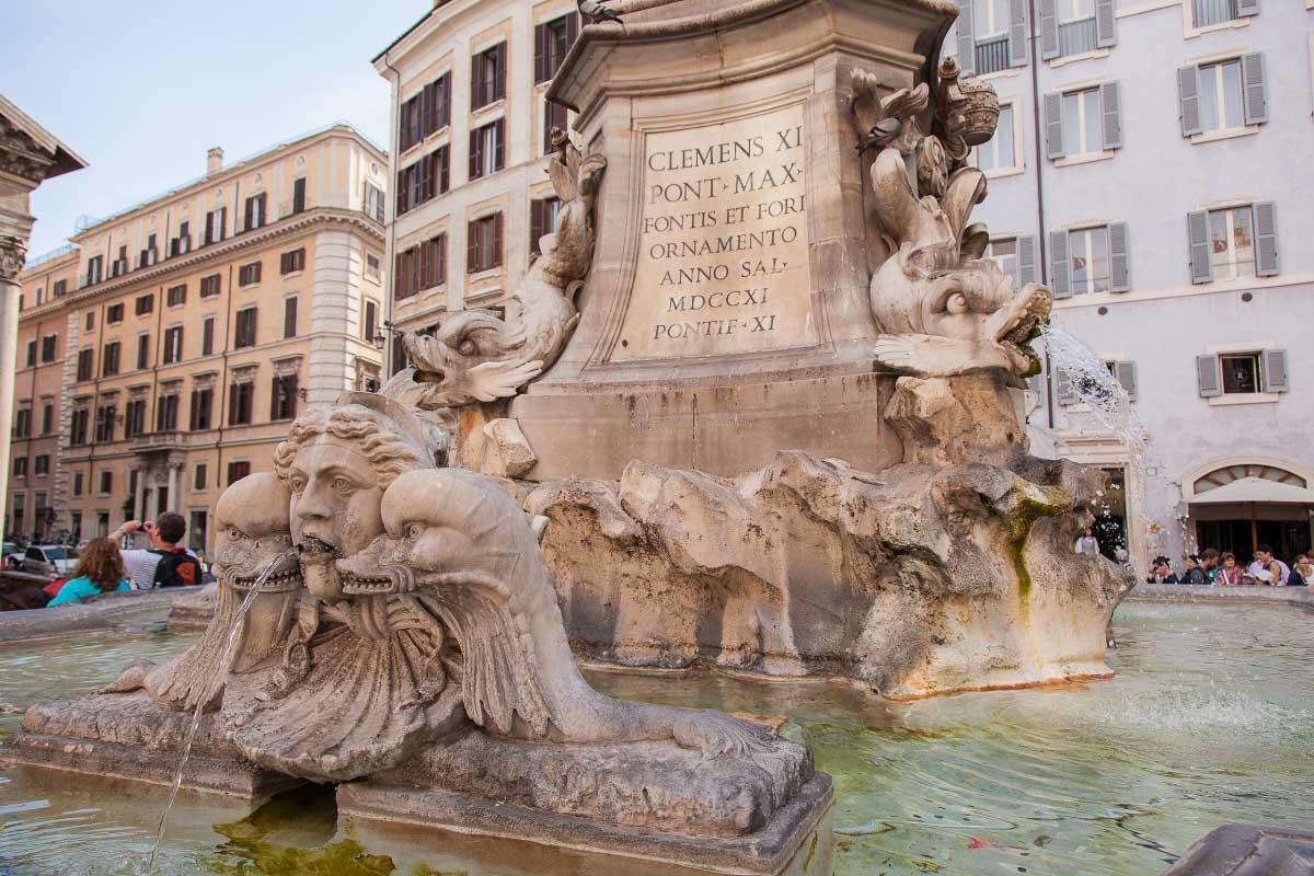 Fontana del Pantheon 1