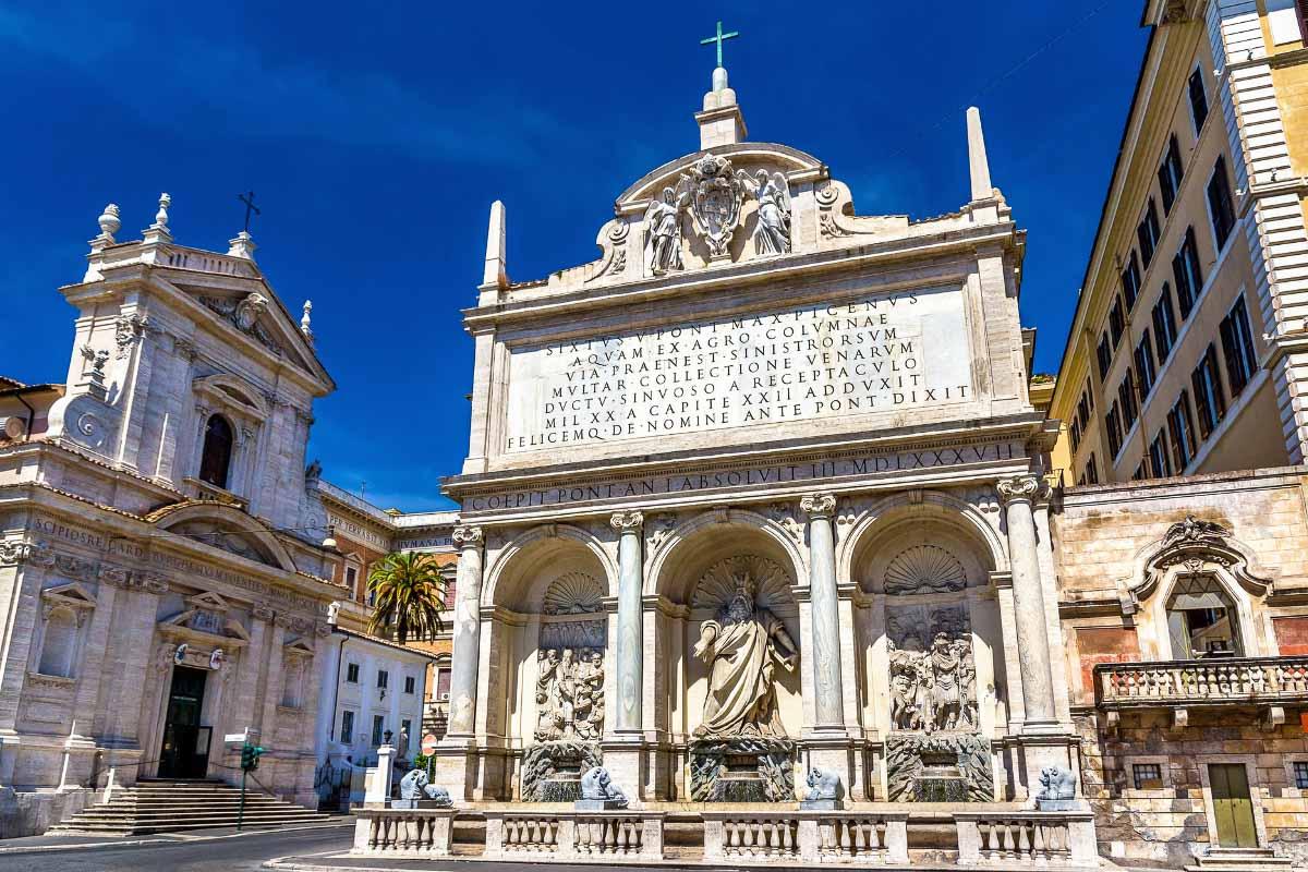 Fountain of the Acqua Felice