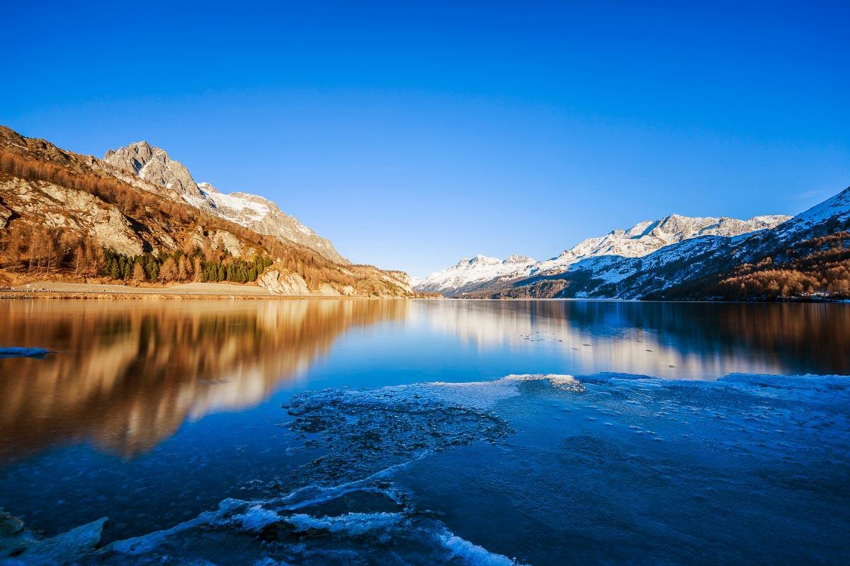 Lake Sils Switzerland