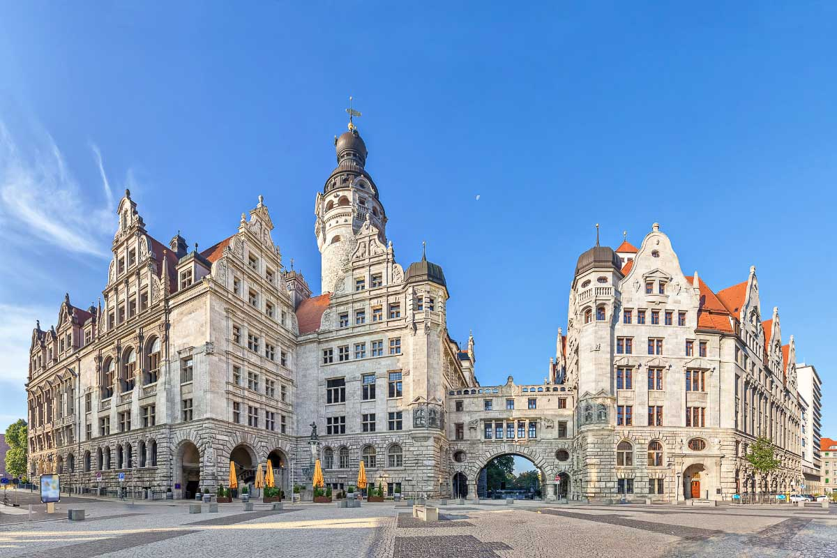Leipzig one of the most beautiful cities in germany