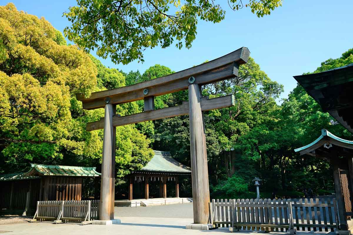 Meiji Jingu tokyo japan