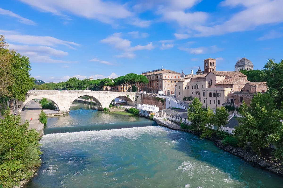 Ponte Palatino rome