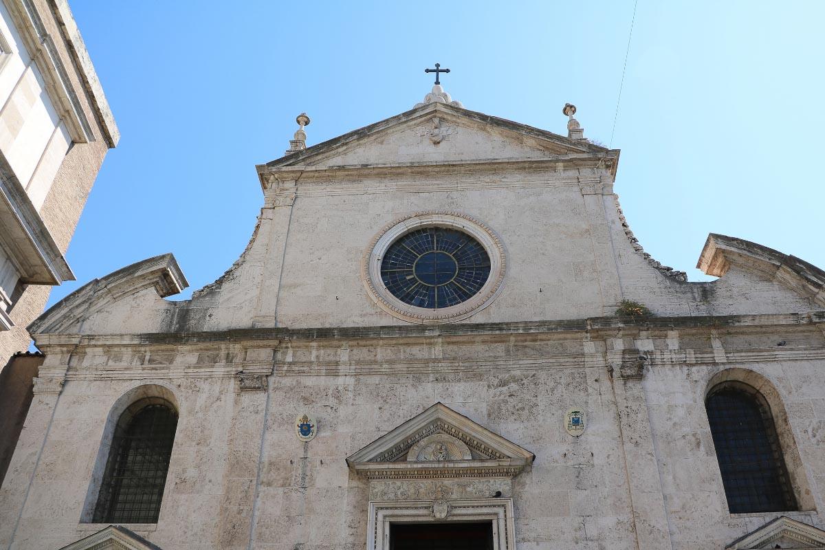 Santa Maria Church rome monuments