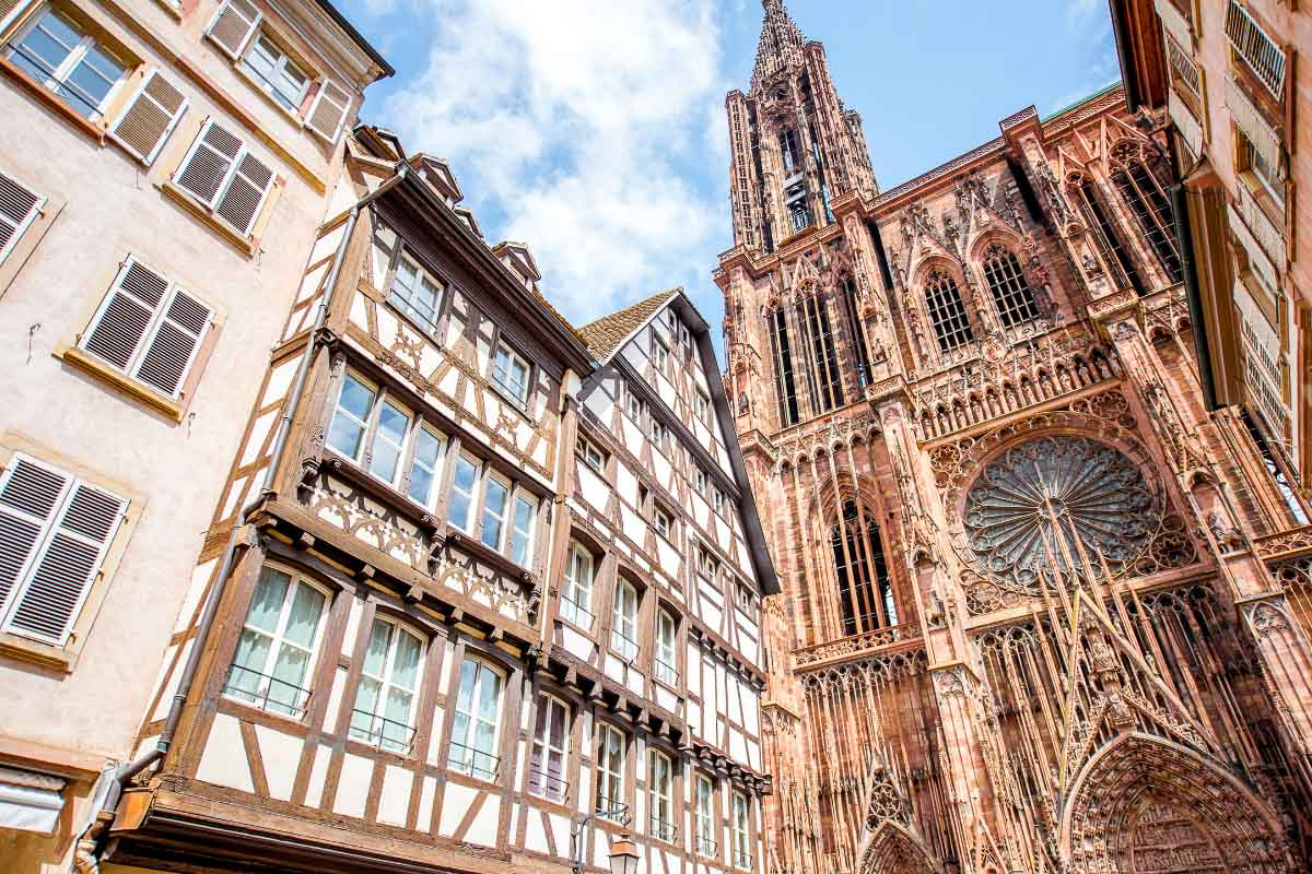 Strasbourg Cathedral up close