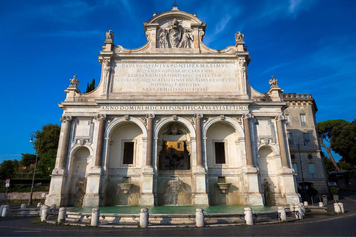 The Acqua Paola Fountain