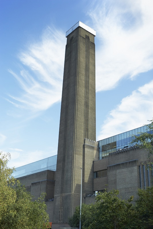 Tower at the Tate Modern London
