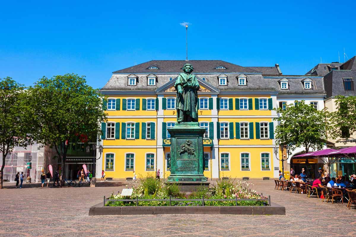 beethoven statute bonn germany