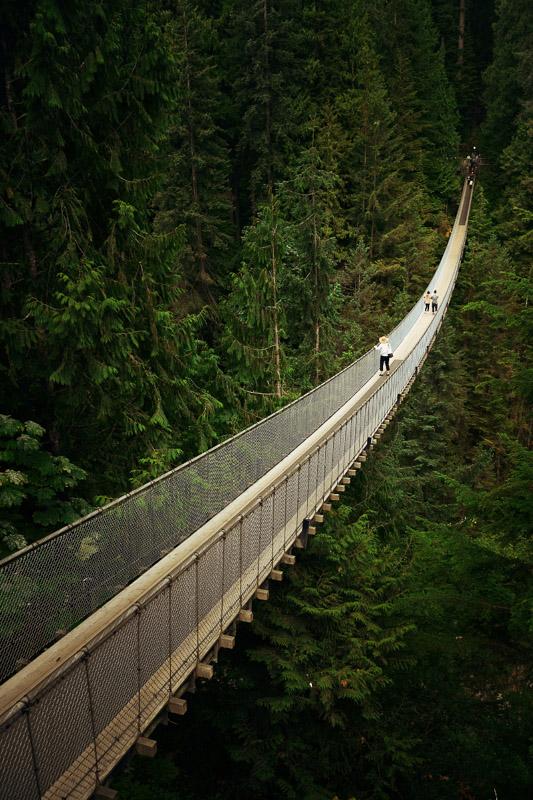capilano suspension bridge vancouver canada