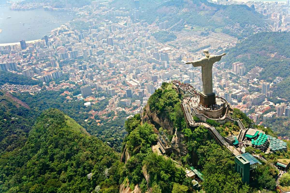 christ the redeemer in rio brazil