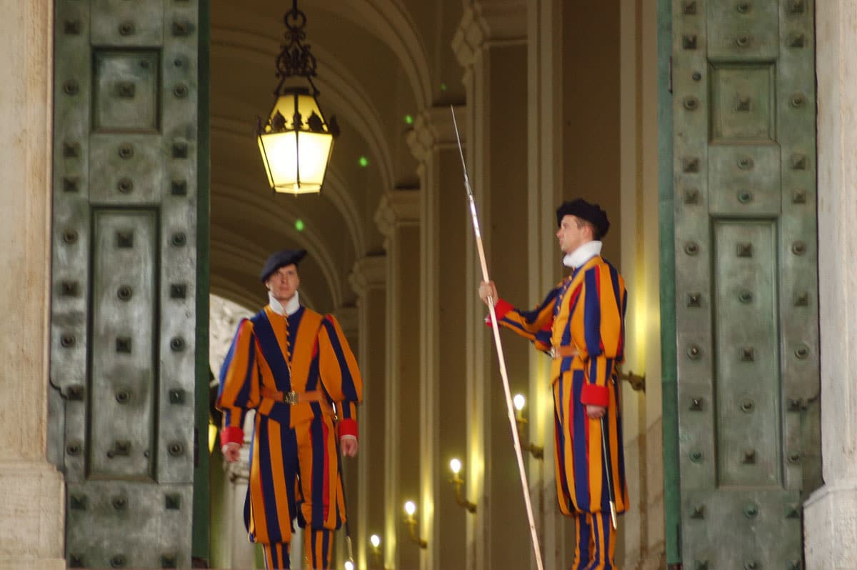 guards at st peters