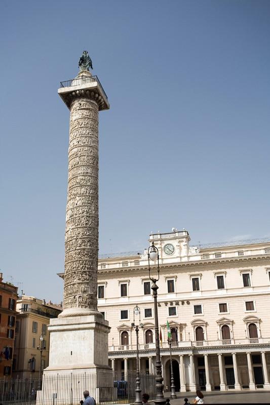marcus aurelius column rome