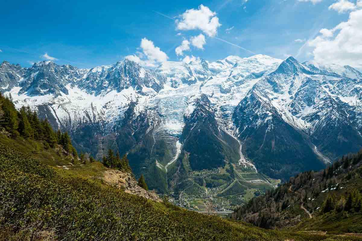 mont blanc france landmark