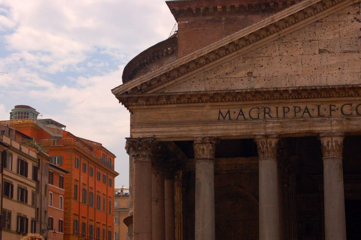 pantheon rome exterior