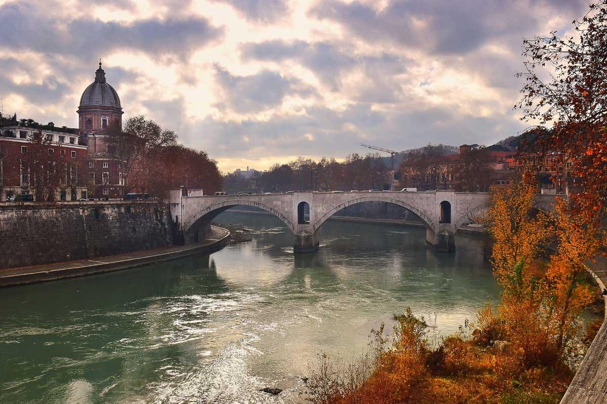 ponte principe rome italy