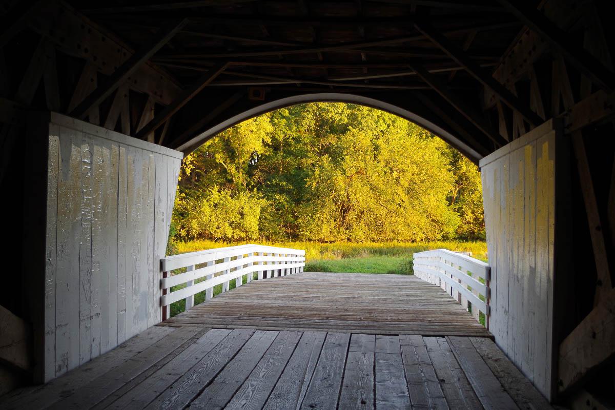 roseman covered american bridge