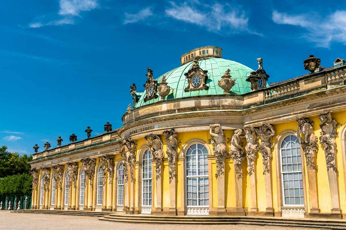 sanssouci palace in germany