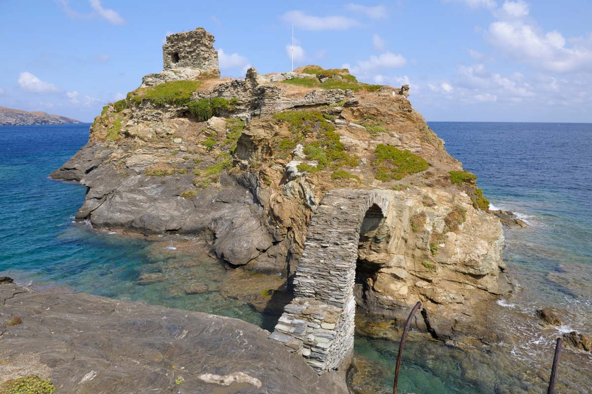 Andros Castle Greece