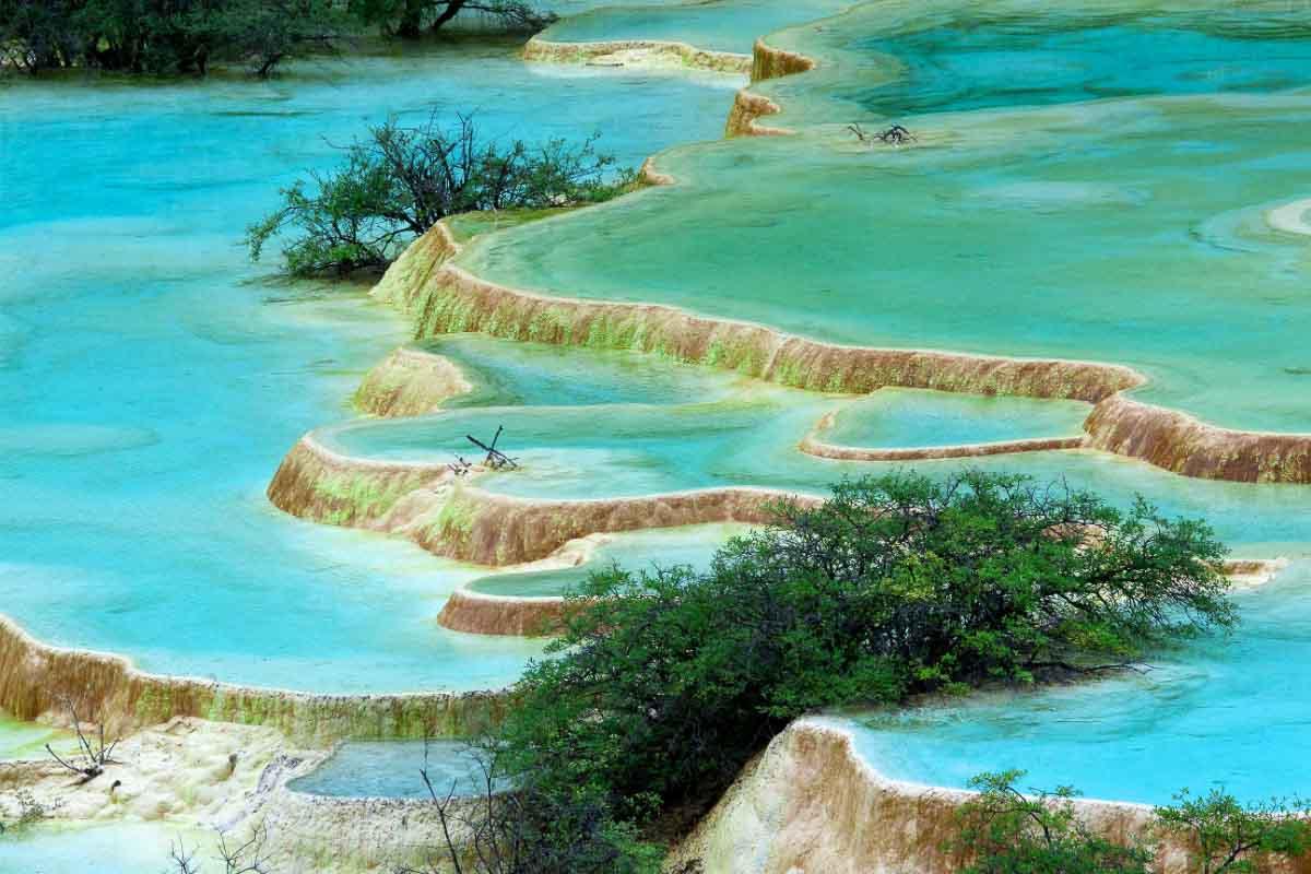 Huanglong Pools