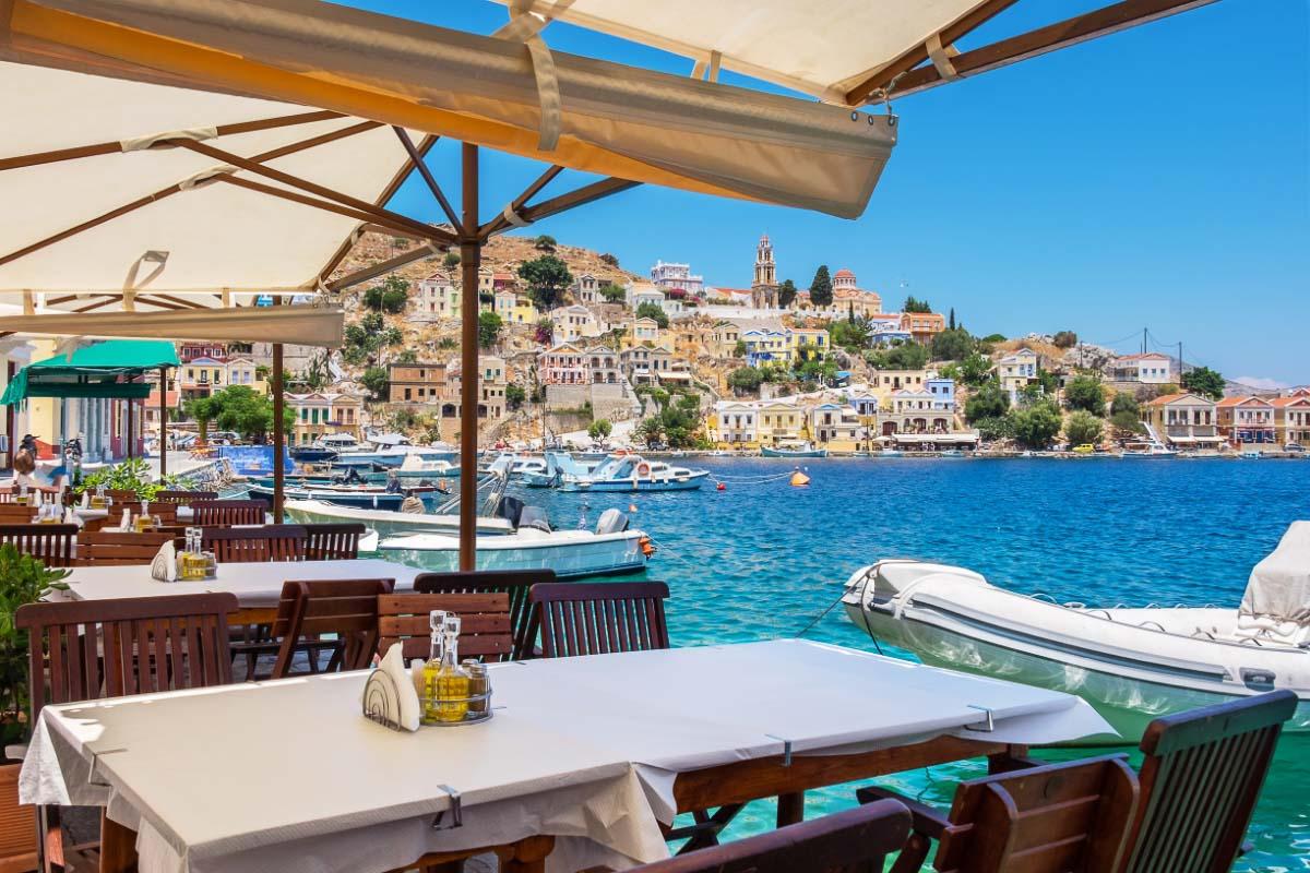 Symi Cafe greece