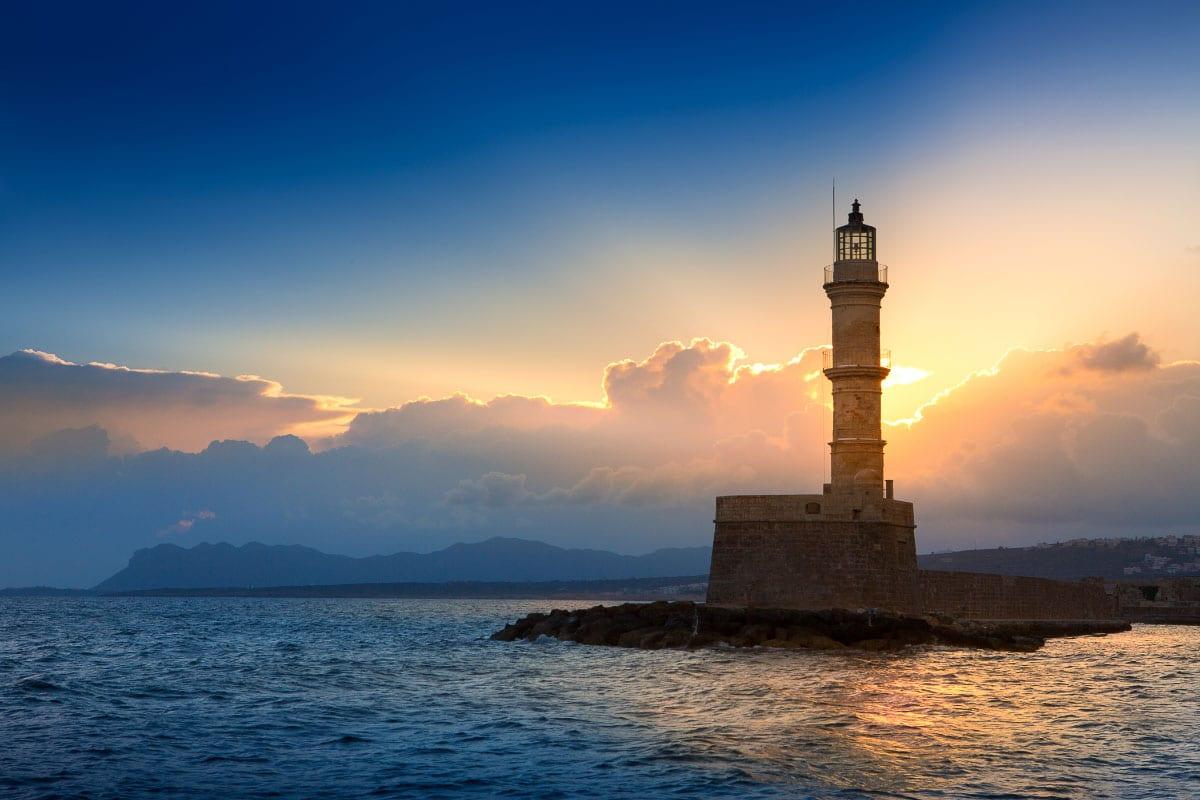 crete lighthouse