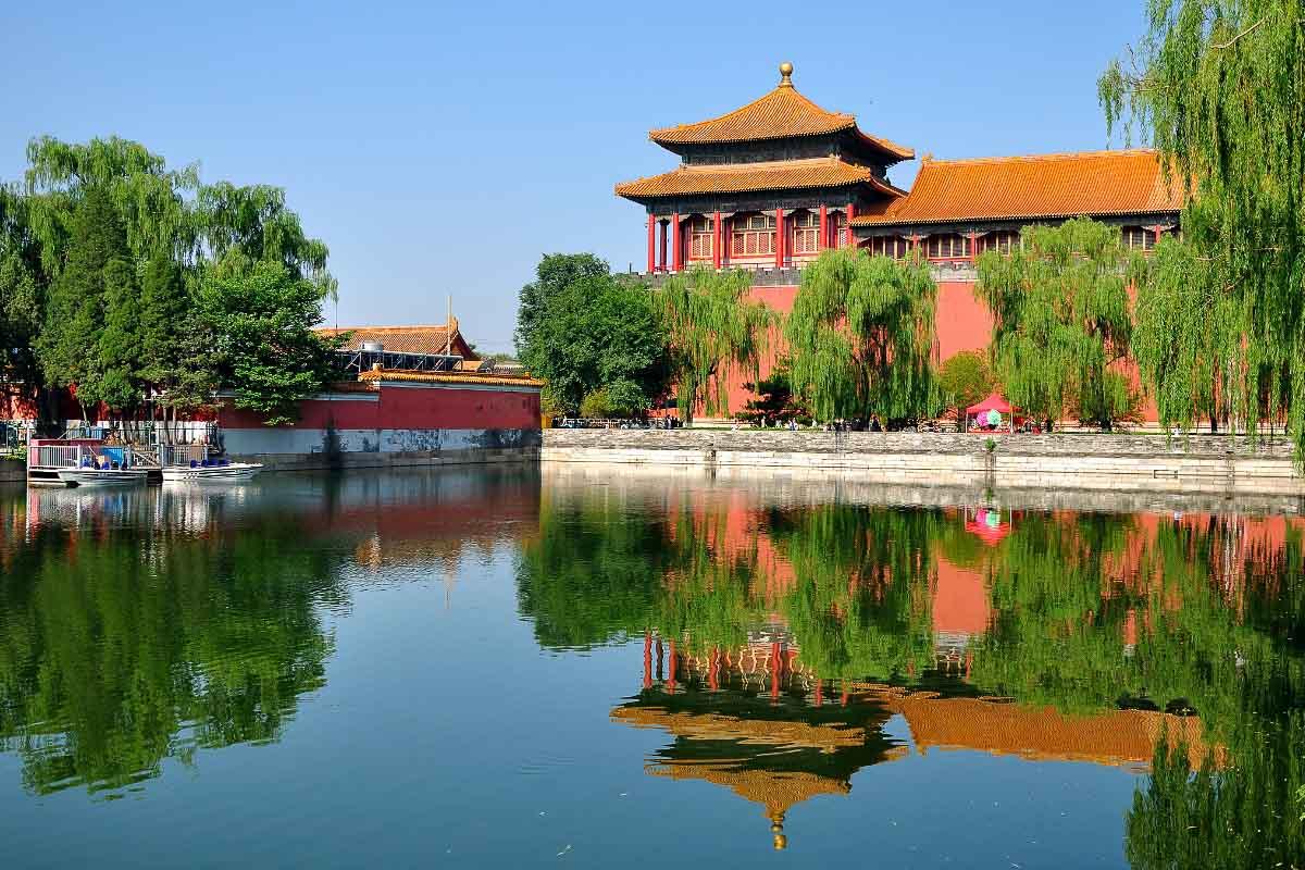 forbidden city bejing china