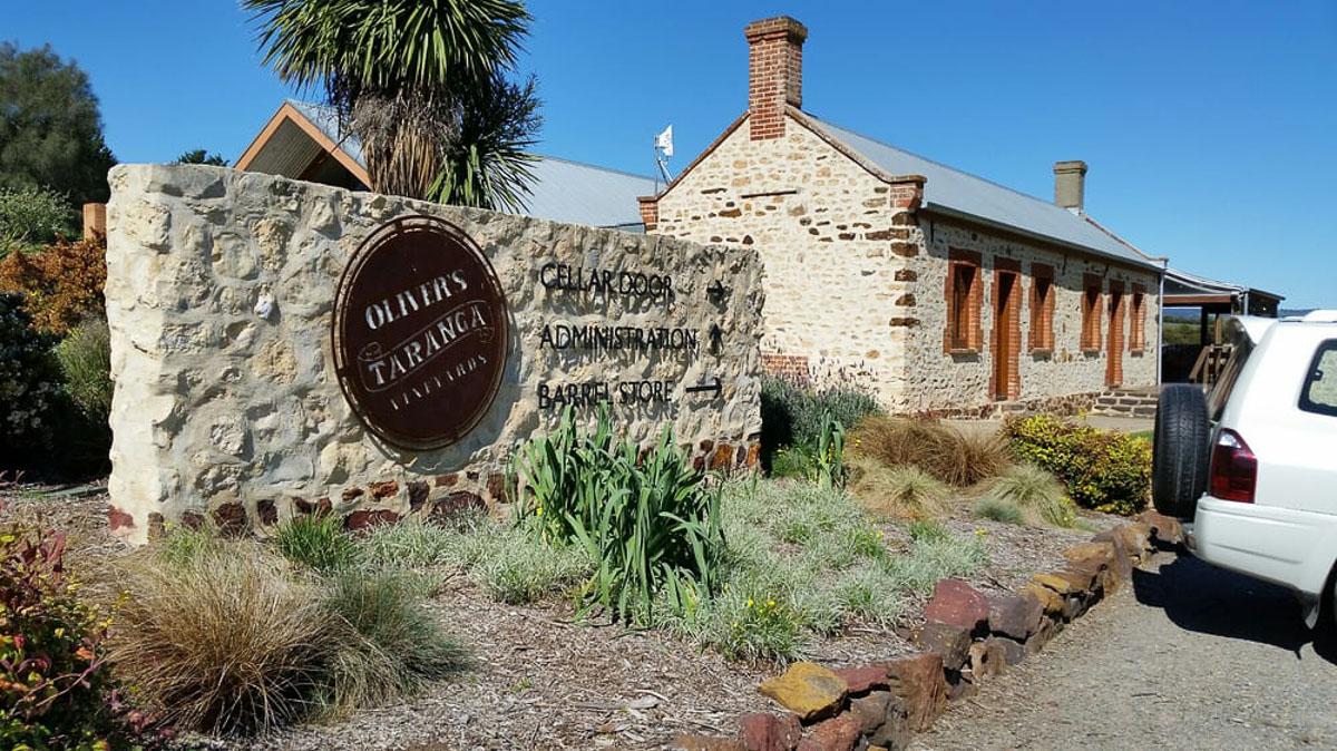 oliver's taranga winery mclaren vale