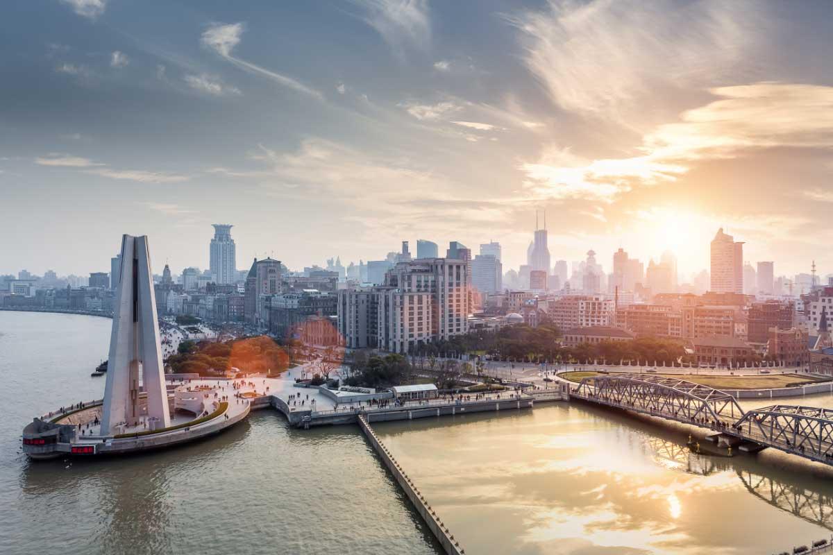 the bund shanghai china landmarks
