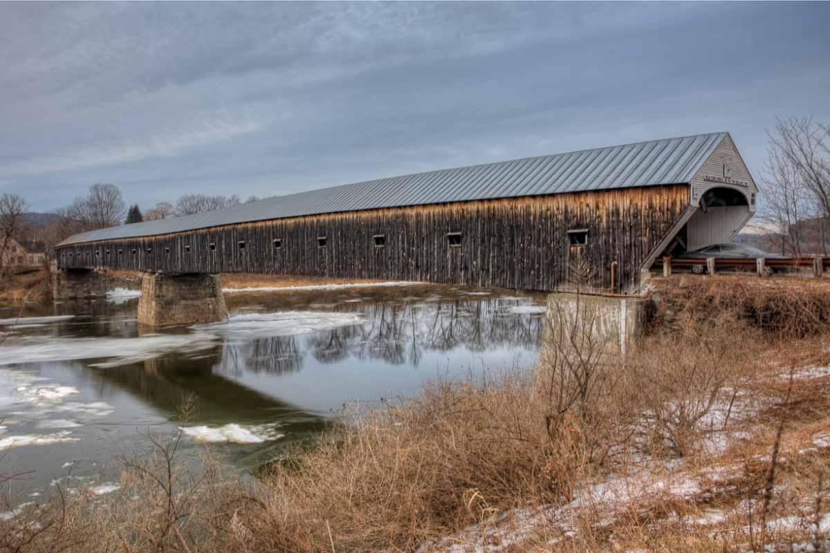 Cornish Windsor Covered Bridge, New Hampshire