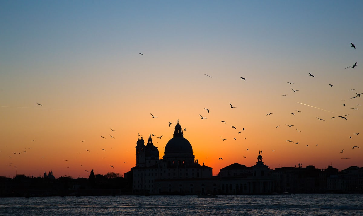 Sunset in venice italy facts about venice