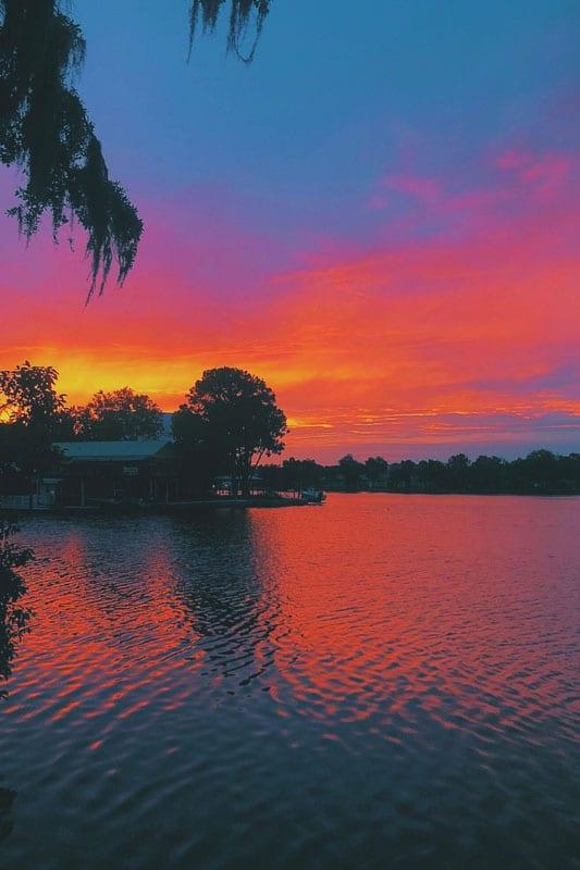 homosassa florida sunset