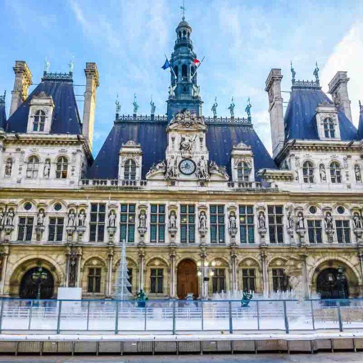 hotel de ville paris monument