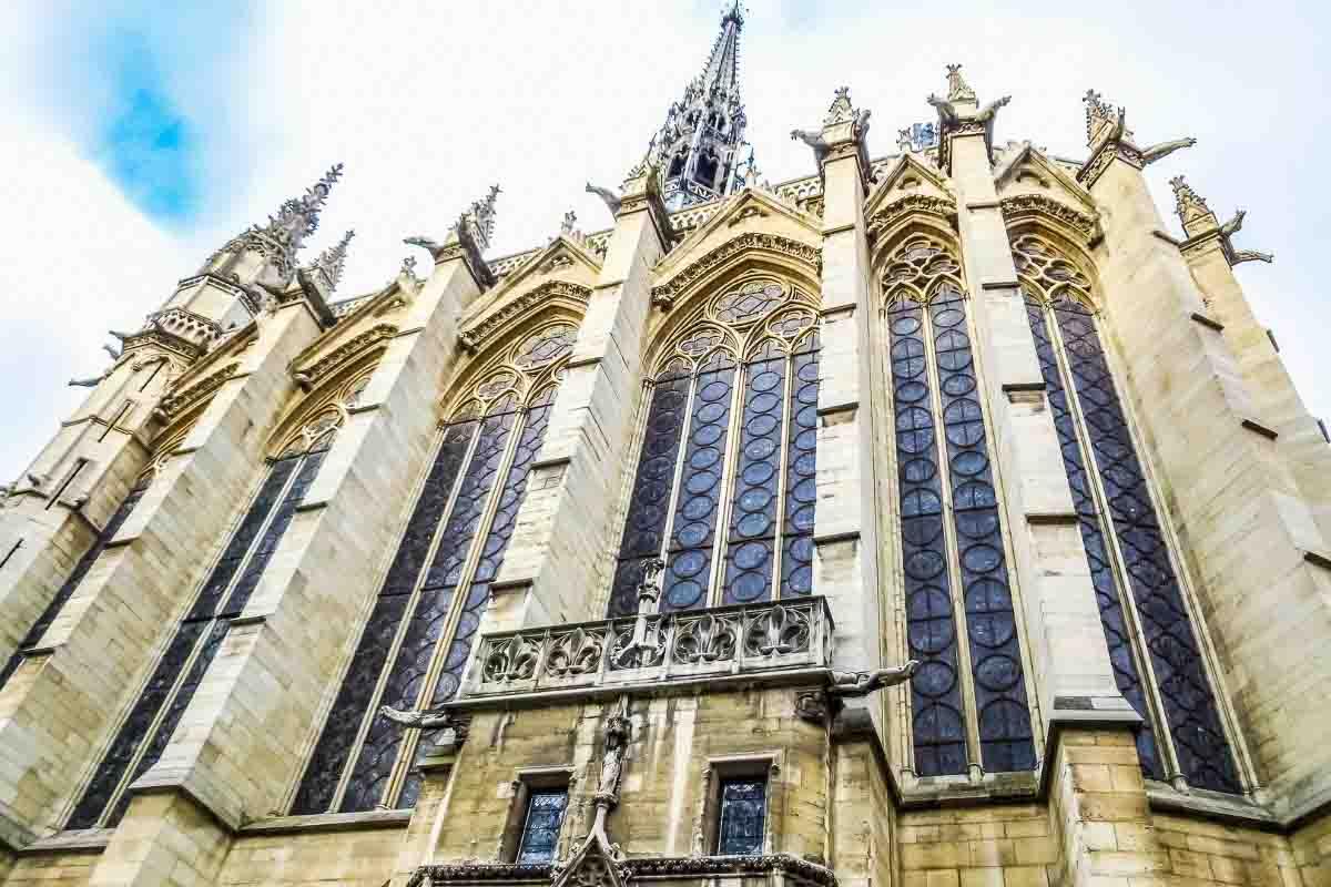saint chapelle exterior paris