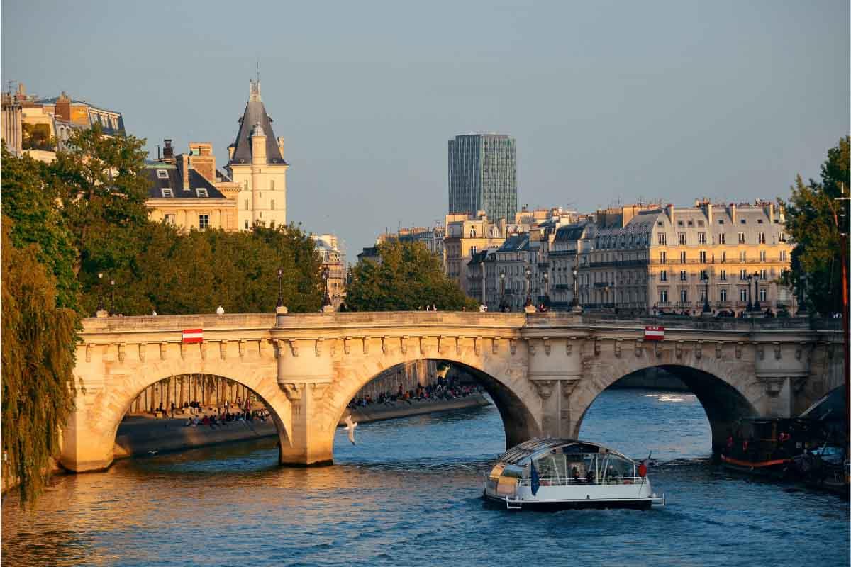 seine river paris what is france famous for