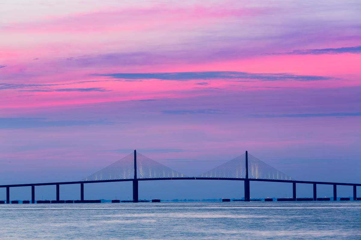 sunshine skyway bridge tampa florida