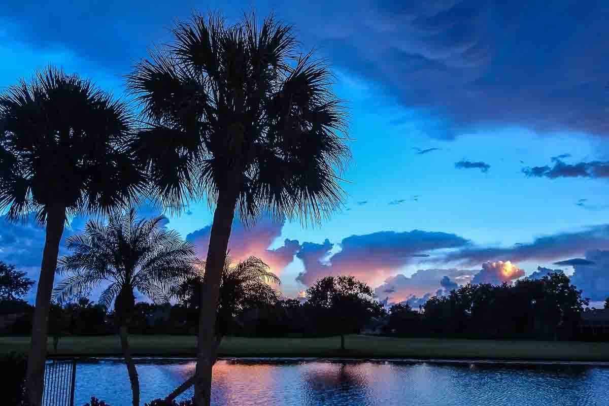 tropical sunsets in florida