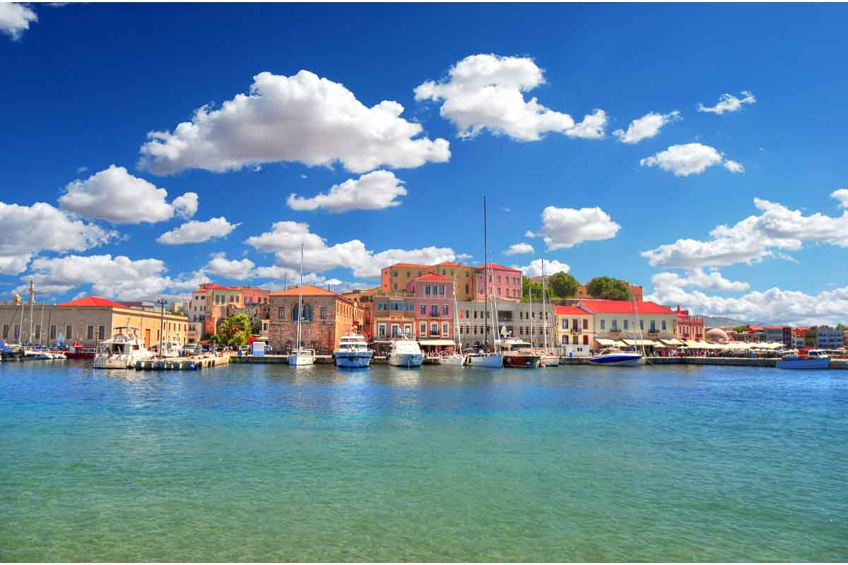 Harbour of Chania