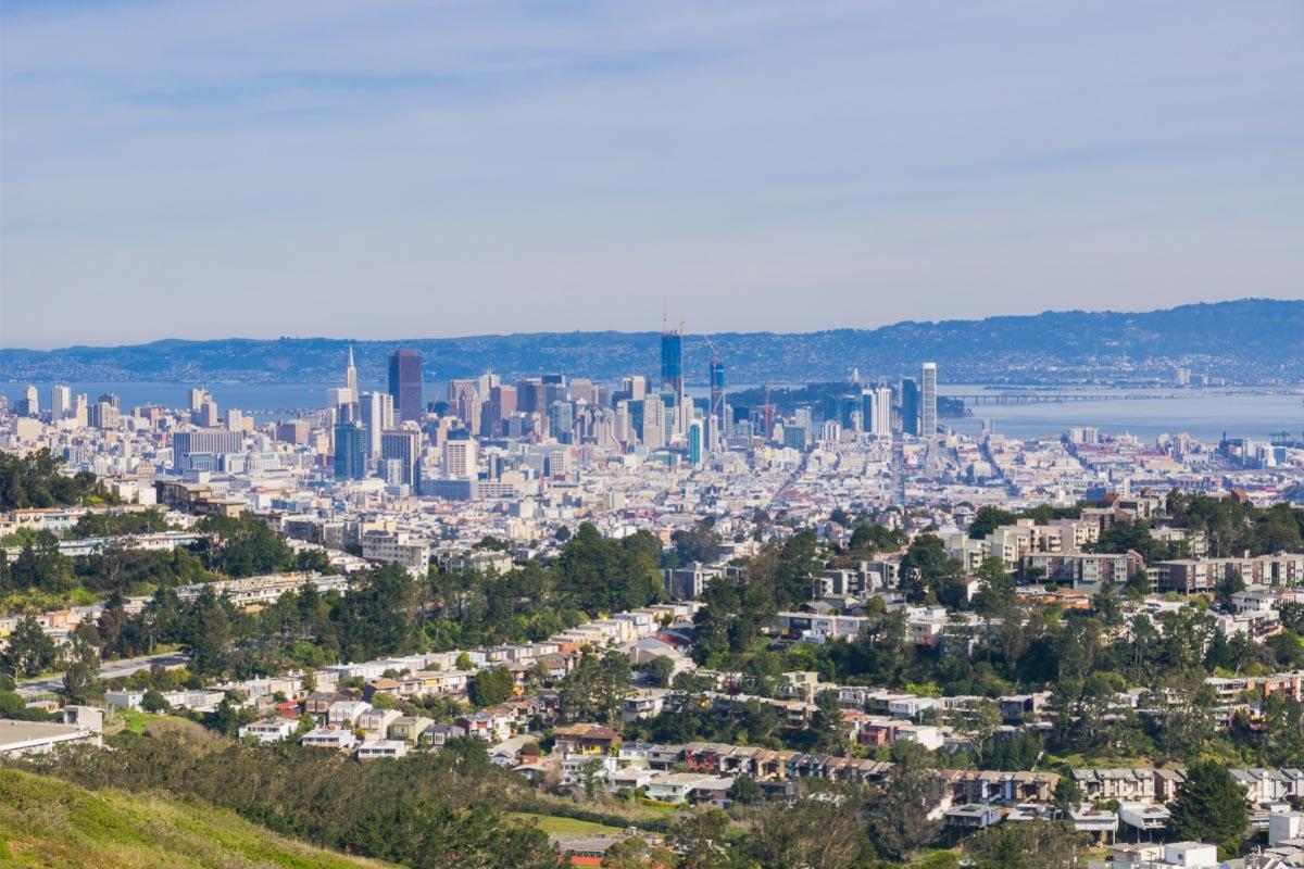 Mt Davidson San Francisco view