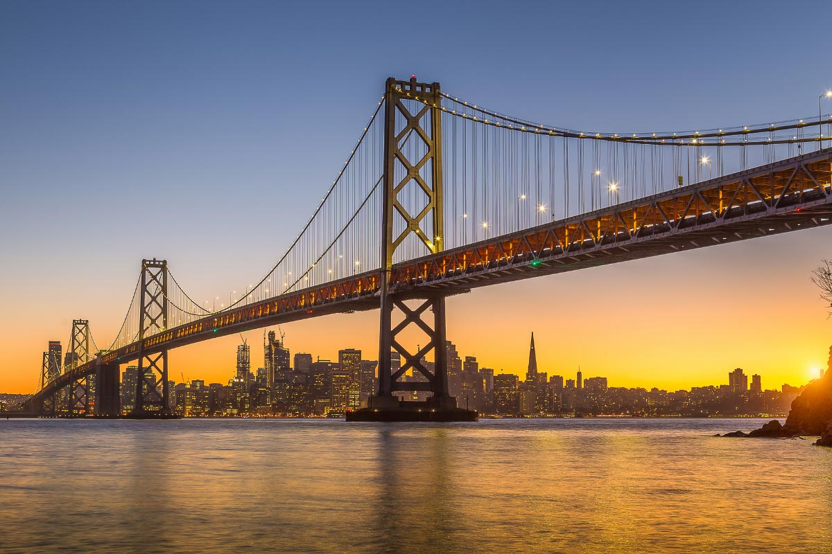san francisco sunset golden gate bridge