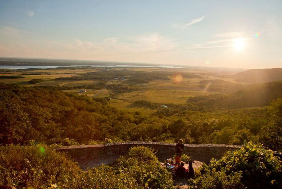 Champlain Lookout Point