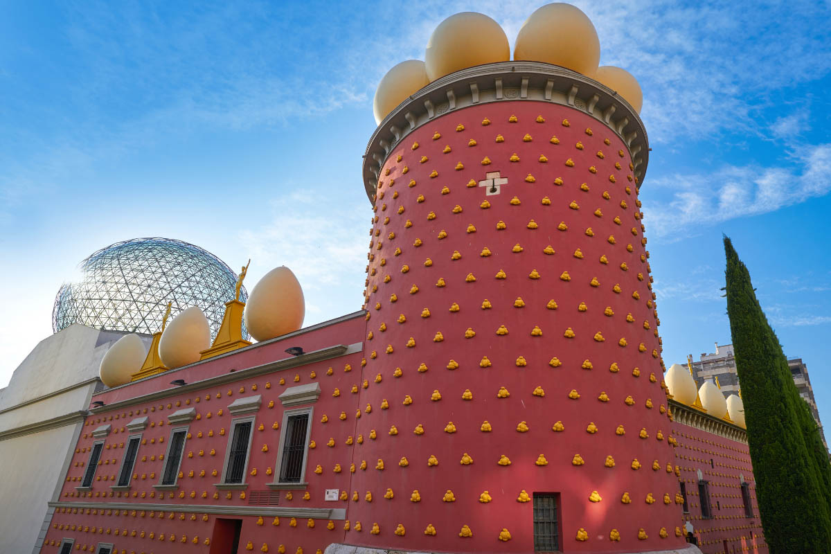Dali museum in figueres