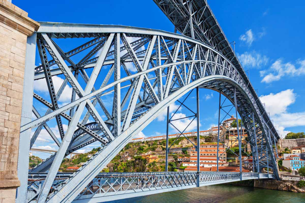 Dom Luis Bridge landmarks of portugal