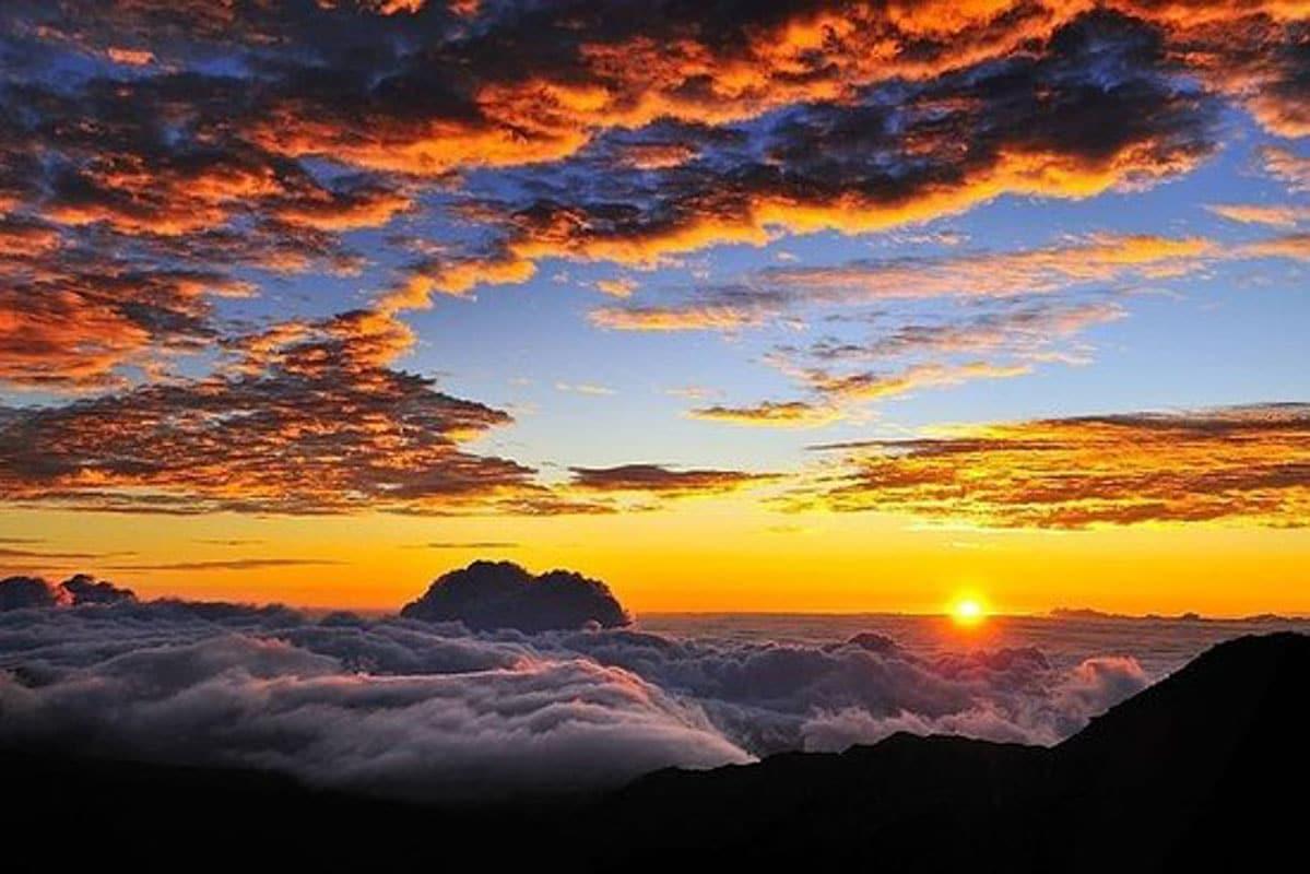 Haleakala Volcano sunset