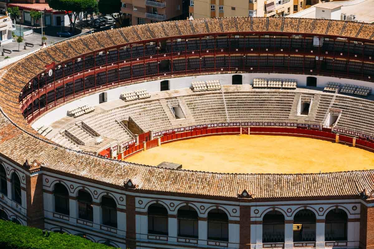 La Malagueta is the bullring in Malaga