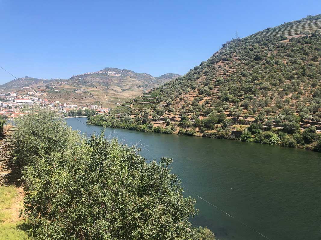 douro valley quinta de la rosa view
