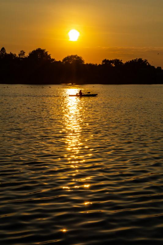 dows lake ottawa sunset