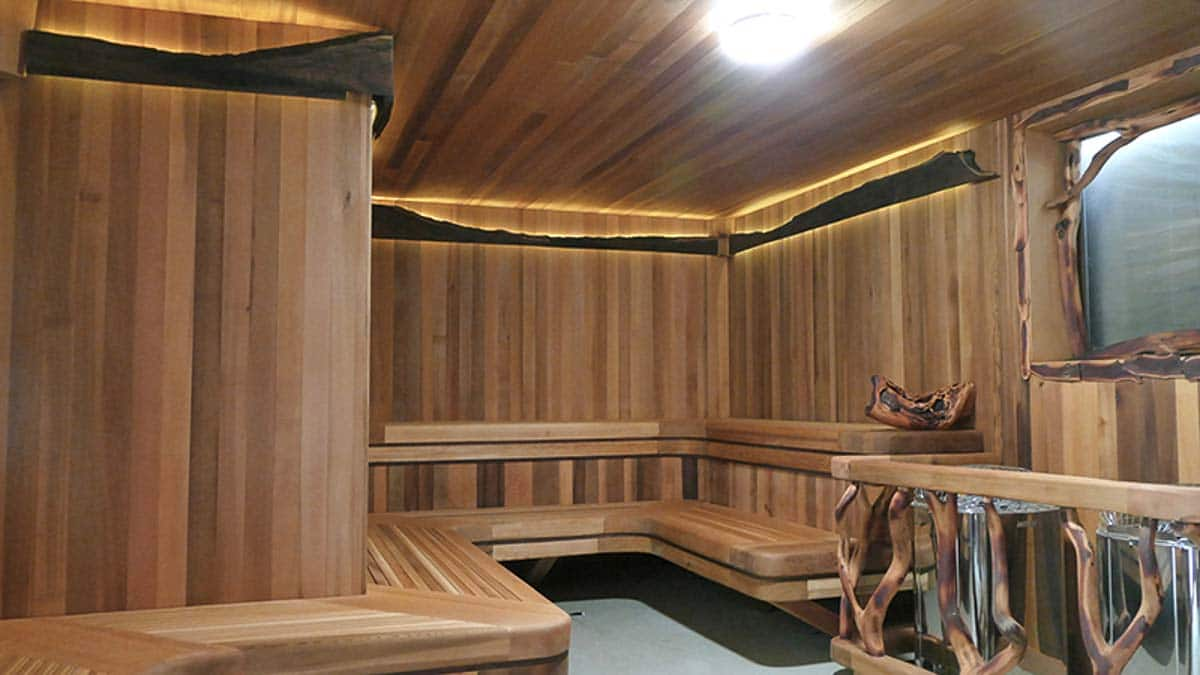 harbin hot springs sauna