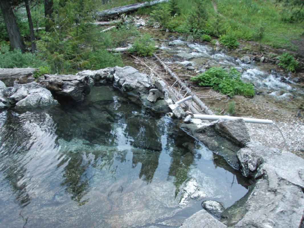 sykes hot springs in northern california