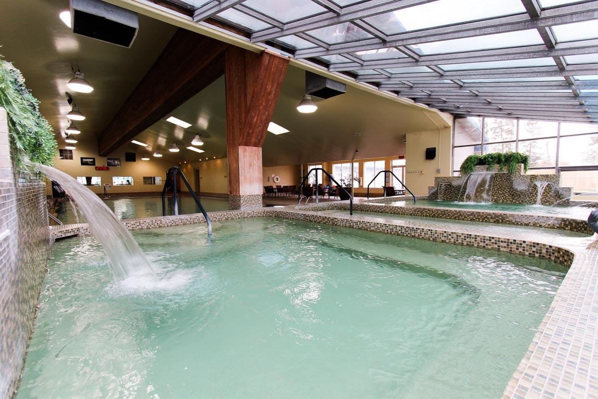 Bozeman Hot Springs indoor pools